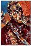 Unikei Foto Auf Leinwand Rammstein - Du Hast (offizielles Video) - YouTube Poster Dekoratives Wohnzimmer Poster Schlafzimmer-23.6' x35.4 (60x90cm) Kein Rahmen