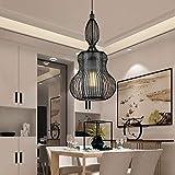 CHENJUNAMZ Restaurant Kronleuchter Größe 60cm * 30cm Deckenleuchte Beleuchtung Beleuchtung Cafe Bar Porch Restaurant Schlafzimmer Arbeitszimmer Wohnzimmer