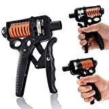 Zongha Unterarmtrainer Handtrainer Handfeder-Übungsgerät Einstellbarer Handgriff-Trainer Griffkraftausrüstung Finger-Trainingsgeräte Handgelenkstärker