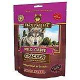 Wolfsblut Cracker I Wild Game Small Breed - Wildgeflügel & Strauß I 3X 225g I getreidefrei