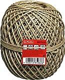 Herlitz 8859605 Bindfaden 700m, 45kg/ 20kg, Farbe braun