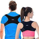 Rücken Geradehalter Haltungskorrektur Rückenstütze Rückentrainer Schultergurt Haltungstrainer Posture Corrector für Nacken Schulterschmerzen für Herren und Damen