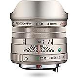 HD PENTAX-FA 31mmF1.8 Limited Silber – Weitwinkelobjektiv mit leistungsstarker HD-Vergütung, für das PENTAX K-System mit 35 mm Vollformat Sensor