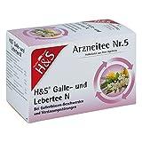 H&S Galle- Und Lebertee N Filterbeutel, 20X2.0 g