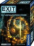 KOSMOS 695149 EXIT- Das Spiel - Der verwunschene Wald, Level: Einsteiger, Escape Room Spiel, für 1 bis 4 Spieler ab 10 Jahre, einmaliges Event-Spiel, spannendes Gesellschaftssp