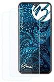 Bruni Schutzfolie kompatibel mit ZTE Blade 10 Smart Folie, glasklare Displayschutzfolie (2X)