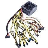 Shuliang Computer-Mining-Netzteil, 1800/2000W/3600W modulare Bitcoin-Mining-Maschinen-Leistung, PSU für 8/12 GPU ETH Rig Ethereum Miner 160-240V/170-240V