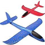 bansd Led Form Flugzeug Hand Start Werfen Segelflugzeug Flugzeug Schaum Epp Flugzeug Spielzeug B