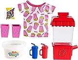 Barbie GHK39 - Cooking & Baking Zubehörset Popcorn, Spielzeug ab 4 Jahren