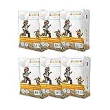 kiwisto Kids Kinderwindel Größe 7 (22+ kg, 55 bis 66 cm Hüftumfang) - Megapack (96 Windeln)