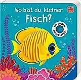 Wo bist du, kleiner Fisch?: Mit großen Fühlklappen