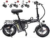 Leifeng Tower Schnelle Geschwindigkeit E-Bike Berg Electric City Bike justierbares leichtes Aluminium Rahmen elektrisches Fahrrad for Erwachsene for Sport Radfahren Reisen Commuting