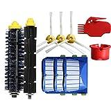 12 stücke Ersatzteil für Staubsauger,Ewendy Bürsten Filter für iRobot Roomba 600 610 620 630 640 650 660 670 680 series Vacuum