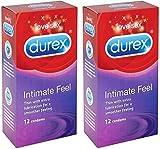 Durex Intimate Elite Feel Kondome, 12 Stück