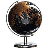 KGD Desktop Globen 5-Zoll-Weinlesekugel-Ornamente Für Home-Dekoration Und Kreatives Geschenk 3D-Globus-Ornamente Geografische Globen (Color : Gold)