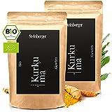 Kurkuma Pulver Bio 2000g   100% naturrein   Ideales Gewürz zum Kochen & Backen, für Curcuma Latte & Goldene Milch (2x 1000g)