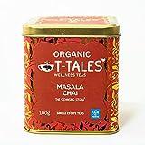 Organic T-Tales - BIO Schwarzer Tee 100g Metalldose, Geschmack: Masala Chai - THE CLEANSING STORY