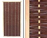 bambus-discount.com Sichtschutzwand Weide Mia 180x90cm hochwertig, gekochte Weide, Holz geb