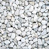 Zierkies Marmorkiesel Carrara- Weiß 16-25 mm a 25 kg