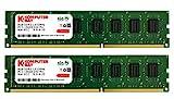 Komputerbay 16GB (2X8GB) 1333MHz DDR3 DIMM 240-Pin PC3-10600 PC3-10666 RAM Desktop-Speicher Dual Channel KIT 9-9-9-25