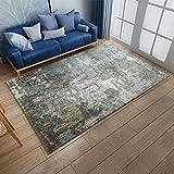 ZAZN 3D Gedruckte Teppich Fußmatten Wohnzimmer Schlafzimmer Büro Chinesische Teppich Türmatte Sofa Couchtisch M