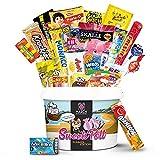 Naschmaschine® SweetsPott einzigartige Süßigkeiten Mystery Box aus aller Welt - 30 Teile Überraschungsbox XXL (Partybox) mit amerikanischen Süßigkeiten als ideale Geschenkidee - Snackbox
