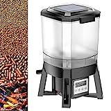 Wiltec CFF-206 Fischfutterautomat Solar programmierbar 1-6 Fütterungen pro Tag