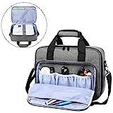 Luxja Beamer Tasche, Tragbar Projektor Tasche für Transport und Aufbewahrung Beamer (Kompatibel mit Epson, Acer, Optoma und andere Beamer), 34,3 cm x 25,4 cm x 10,8 cm, G