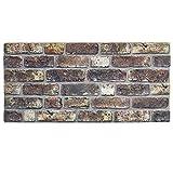 IZODEKOR Wandverkleidung Steinoptik Styropor 3D Wandpaneele - Verblender Steinoptik für Küche, Badezimmer, Balkon, Schlafzimmer, Wohnzimmer, Küchenrückwand und Teras | Mag