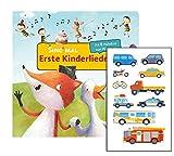 Buchspielbox Sing mal (Soundbuch): Erste Kinderlieder (Pappbilderbuch + Kindersticker, ab 2 Jahren