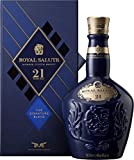 Chivas Royal Salute Blended Scotch Whisky 21 Year Old mit Geschenkverpackung / 21 Jahre gereifte Premium-Whisky Komposition aus Malt & Grain Whiskys / 1 x 0,7 L