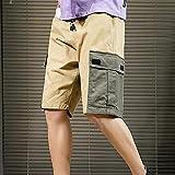 WRYIPSF Mens Shorts Sommer Casual Shorts Männer Baumwolle Mode Hip Hop Shorts Männliche Shorts Homme Plus Größe-C_XXL.