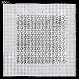 DXLing 7 Stück Wandreparatur Patch Set für Gipskartonplatten und Trockenbau Wand Aluminium-Kunststoff Reparaturflicken Selbstklebende Sieb Patch zum Reparatur von Löchern und Rissen (10 * 10cm)