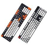 Ys-s Shop-Anpassung 104 Key OEM-Profil PBT-Verdicken Keycaps KeyCap-Set für technische Tastatur (Color : #5)