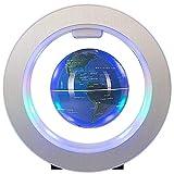 LULUTING Die worldGeographic Globes Schwebender Globus mit LED-Leuchten erkunden Magnetic Levitation Schwebender Globus Weltkarte for Tischdekoration pädagogisches Geschenk