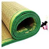 ALGWXQ Sommer Bambusmatte Wasserdicht Wärmeableitung Komfortabel Rattan KühlSommer Schlafmatte Benutzt für Schlafzimmer, Büro, Sommer Cooles Pad (Color : B, Size : 120X195cm)