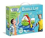 Clementoni 61898 Spiel – Seifenblase – Wissenschaft Spielzeug – Labor und Eperiment Kit für Kinder ab 8 Jahren – Englisch, Mehrfarbig