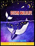 Ocean Wildlife Coloring Book: Stress Relieving Ocean Designs for Adults Relaxation