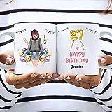 Freundin Geburtstag Memory Tasse   Personalisiertes Geburtstagsgeschenk für Mädchen und Frau
