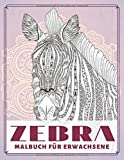 Zebra - Malbuch für Erwachsene 🦓