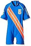 Zunblock Jungen UV 50 Plus Anzug Stars and Stripes, Royal/Orange, 86/92