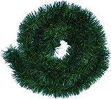 Handel24NET Excellente 5m künstliche Dekogirlande im Tannengrün - flexibel einsetzbar im Innen- und Aussenbereich - Diese Tannengirlande erfreut die ganze F