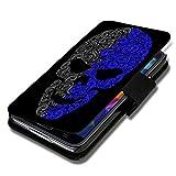 wicostar Book Style Flip Handy Tasche Case Schutz Hülle Schale Motiv Etui für Nokia Lumia 630 - Flip 1A49 Design12