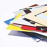 Passepartout Premium Museumsqualität - Reinweiß - 1 Stück - Außen: 50x70 / für Bildgröße: 40x60-34 Farben zur Auswahl in Allen Standardgrößen