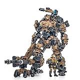 LYCH Soldat Actionfigur 1/25, Action Figuren Modell Beweglich Figuren Taktischer Mecha mit Soldat Modell Spielzeug - Dark Source Wüstenversion