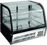 Saro 323-3182 LISETTE 100 Tisch-Kühlvitrine, 85L