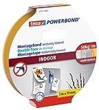 tesa 55741-01-00 Powerbond Montageband Indoor, Unbekannt, 5m:19