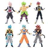 SXXYTCWL Ball Super Saiyan Broli 6 Zeichenfiguren 4. Generation Zeichentrickfigur Modell Anime-Charakter Statue Dekoration Action-Figur Spielzeug jianyou