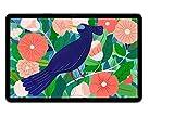 Samsung Galaxy Tab S7, Android Tablet mit Stift, 4G, WiFi, 3 Kameras, großer 8.000 mAh Akku, 11,0 Zoll LTPS Display, 128 GB/6 GB RAM, Tablet in schw