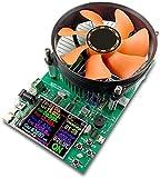 NMVB 2.4'APP DC USB-Tester subert elektronische Last 18650 Batteriekapazität Monitor Entladungsladung Leistungszähler Versorgungskontrolle USB-Spannungsstrom Lastzähler Tester